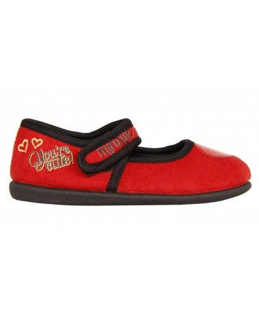Calzado de casa de Niña DISNEY DM000261-B2067 RED-BLACK