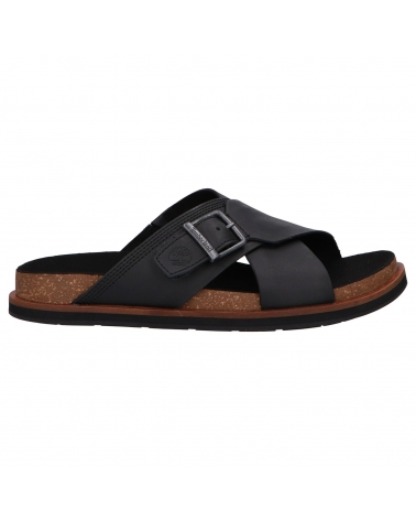 Chanclas TIMBERLAND  de Hombre A2B65 Amalfi Vibes Black Leather