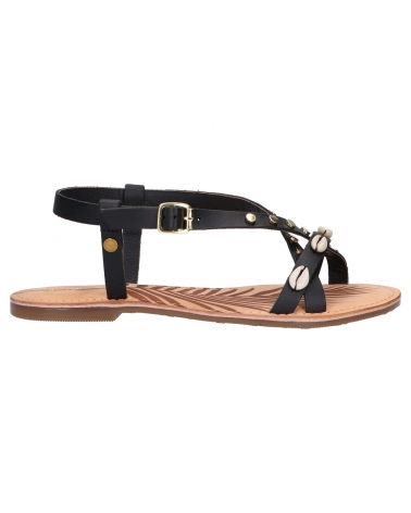 Sandalias PEPE JEANS  de Mujer PLS90449 MARCH SEA 999 BLACK