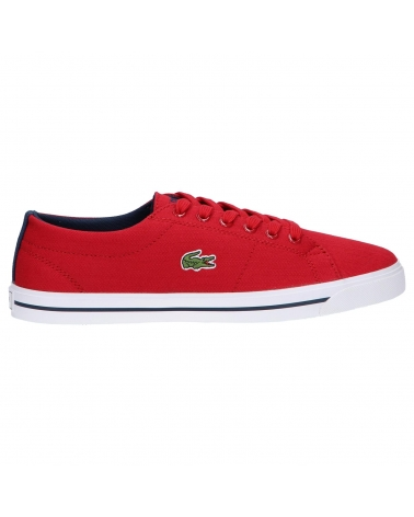 Girl and Boy Trainers LACOSTE 32SPJ0105 MARCEL 112 DK RED