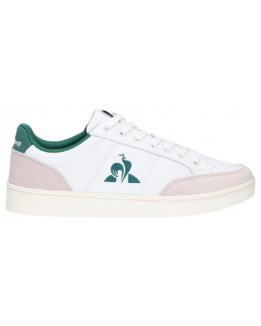 Zapatillas deporte LE COQ SPORTIF  de Hombre 2020313 COURT NET OPTICAL WHITE-EVERGREEN