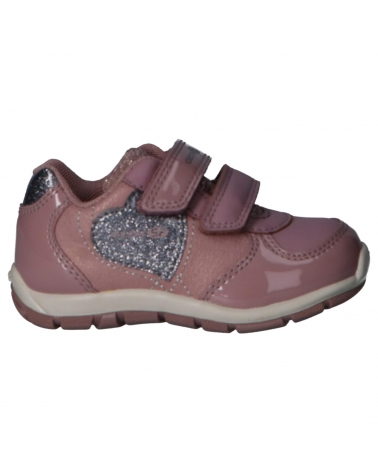 Girl Sports shoes GEOX B943YA 0KNPV B HEIRA C8366 ANTIQUE ROSE-GREY