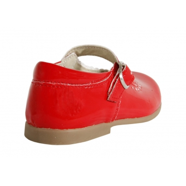 Zapatos de Niña GARATTI AN0067 RED CHAROL