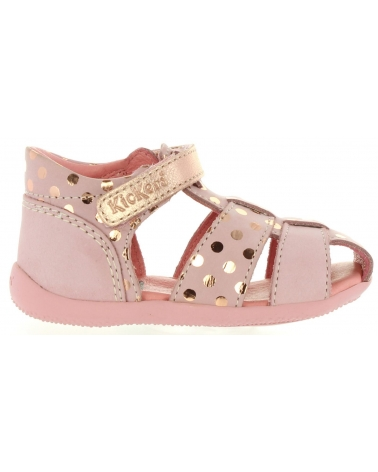 Girl Sandals KICKERS 469620 BIGGY 131 ROSE