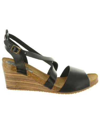 Women Sandals KICKERS 419300-50 SPAGNOL 8 NOIR