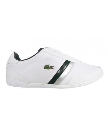 Men Sports shoes LACOSTE 27SPM1062 GIRON SSL 1R5 WHT-DK GRN