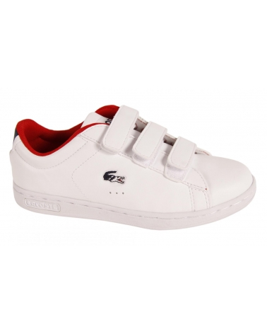 Girl and Boy Sports shoes LACOSTE 29SPC2014 CARNABY EVO HTB 286 WHITE
