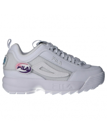 Women Sports shoes FILA 1010864 1FG DISRUPTOR WHITE