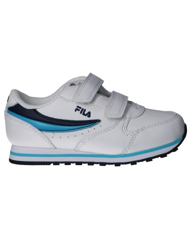 Girl and Boy Sports shoes FILA 1011080 92E ORBIT WHITE-NAVY