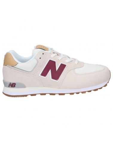 Women and Girl and Boy Sports shoes NEW BALANCE GC574NE2 BEIGE