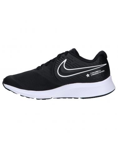 Women and Girl and Boy Sports shoes NIKE AQ3542 STAR RUNNER 2 001 BLACK