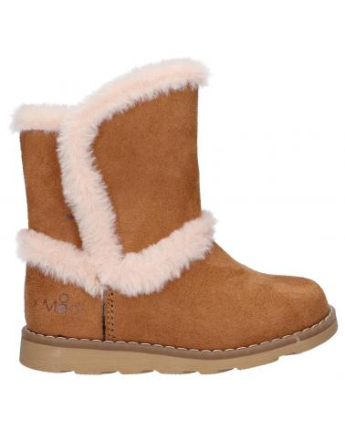 Boy and Girl Boots MOD8 831862-10 ALDOUX 114 CAMEL