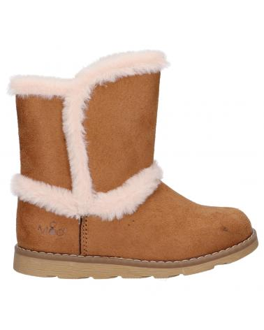 Girl and Boy Boots KICKERS 831862-30 ALDOUX 114 CAMEL