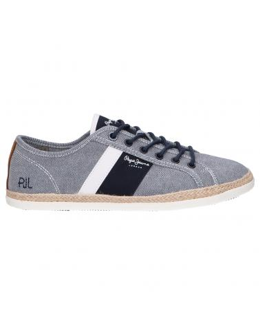 Men Trainers PEPE JEANS PMS30711 MAUI BLUCHER 564 CHAMBRAY