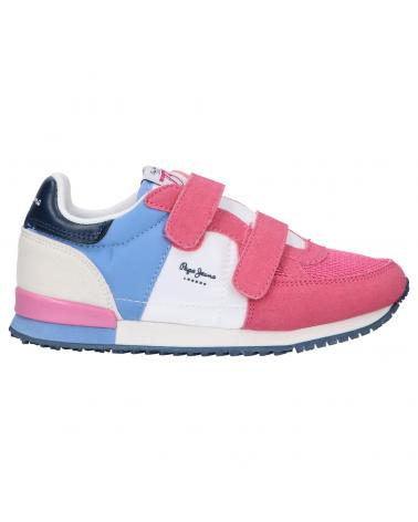 Girl Sports shoes PEPE JEANS PGS30501 SYDNEY 357 FUCHSIA