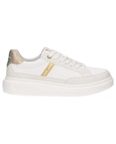 Women Sports shoes PEPE JEANS PLS31152 ABBEY SHADE 800 WHITE