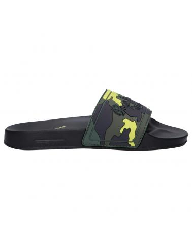 Women and Girl and Boy Flip flops PEPE JEANS PBS70045 SLIDER CAMOS 765 KHAKI GREEN