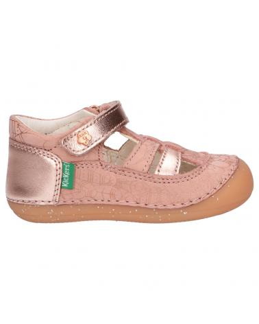 Chaussures pour Fille KICKERS 784845-10 SUSHY 131 ROSE ETHNIC