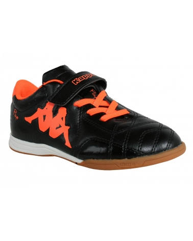 Zapatillas deporte de Niño y Niña KAPPA 302EK10 PLAYER 906 BLACK ORANGE