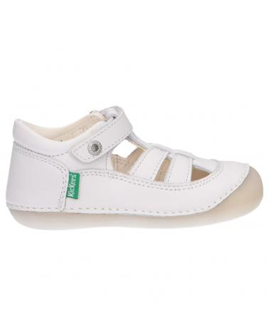 Chaussures pour Fille KICKERS 611084-10 SUSHY 3 BLANC
