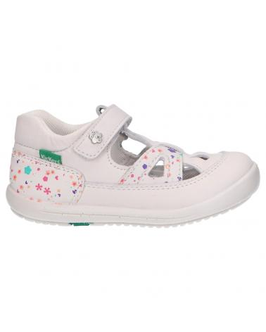 Chaussures pour Fille KICKERS 692384-10 KIKI 32 BLANC BLOSSOM