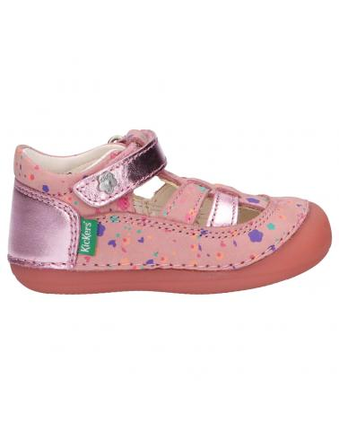Chaussures pour Fille KICKERS 784847-10 SUSHY 13 ROSE BLOSSOM