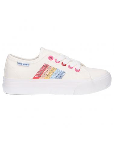 Girl Trainers LOIS JEANS 60154 901 WHITE-MULTICOLOR