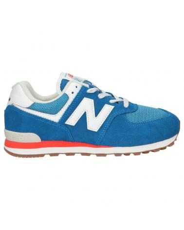 Women and Girl and Boy Sports shoes NEW BALANCE GC574HC2 BLUE