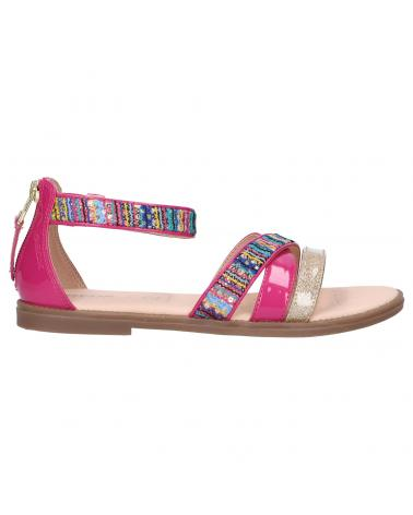 Women and Girl Sandals GEOX J9235I 0DSHI J KARLY C8238 FUCHSIA-MULTICOLOR