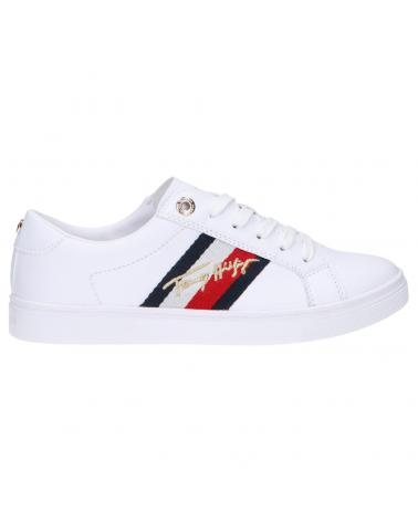 Women Trainers TOMMY HILFIGER FW0FW05224 SIGNATURE YBR WHITE