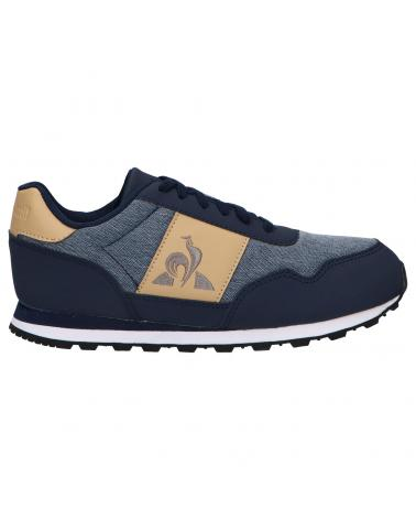 Women and Girl and Boy Sports shoes LE COQ SPORTIF 2120045 ASTRA CLASSIC DRESS BLUE