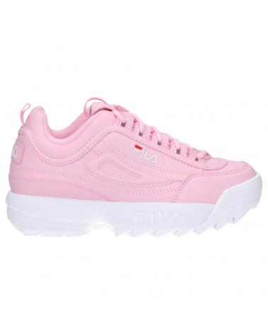Girl Sports shoes FILA 1010567 74S DISRUPTOR PINK