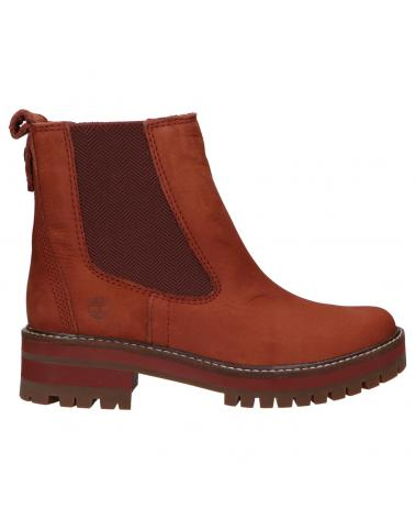 Women Mid boots TIMBERLAND A2HKQ COURMAYEUR VALLEY CHELSEA CH7 CHERRY MAHOGANY