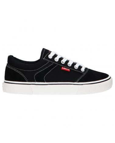 Women and Girl and Boy Trainers LEVIS VNYC0003T PHILADELPHIA 0003 BLACK