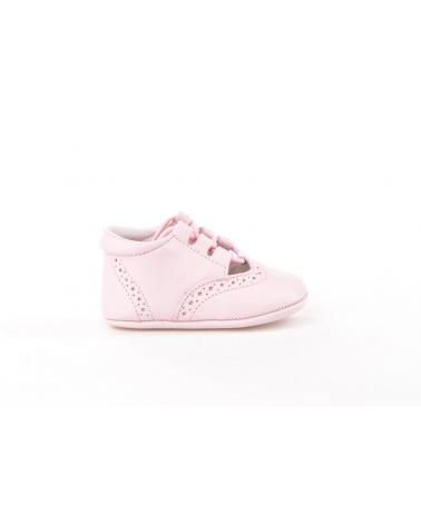 Girl and Boy Infant shoes angelitos ZAPATO PATUCO PIEL 256 ROSA
