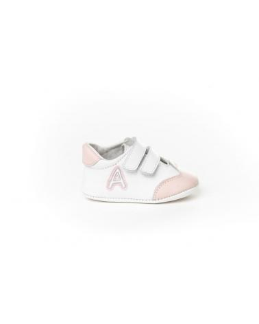 Girl and Boy Infant shoes angelitos ZAPATO PATUCO PIEL 266 ROSA