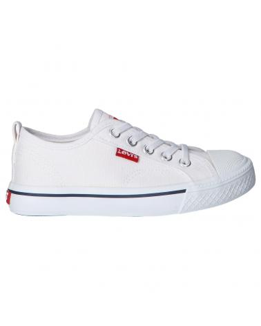 Boy and Girl Trainers LEVIS VORI0005T MAUI 0061 WHITE