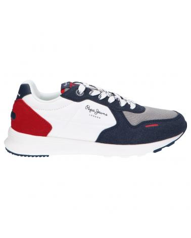 Women and Girl and Boy Sports shoes PEPE JEANS PBS30508 YORK BASIC 595 NAVY