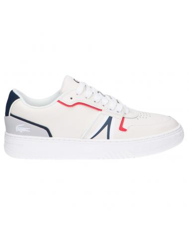 Men Sports shoes LACOSTE 42SMA0092 L001 407 WHT-NVY-RED