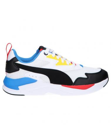 Women and Girl and Boy Sports shoes PUMA 374393 X-RAY 20 WHITE-BLACK
