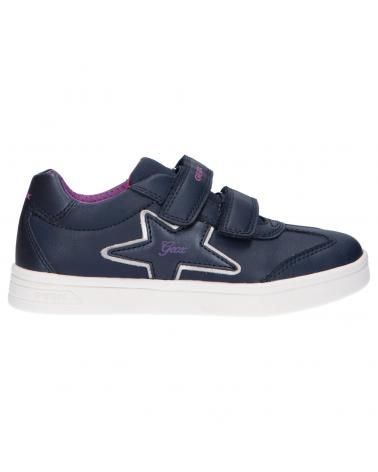 Women and Girl Mid boots GEOX J164MB 000BC J DJROCK C4268 NAVY