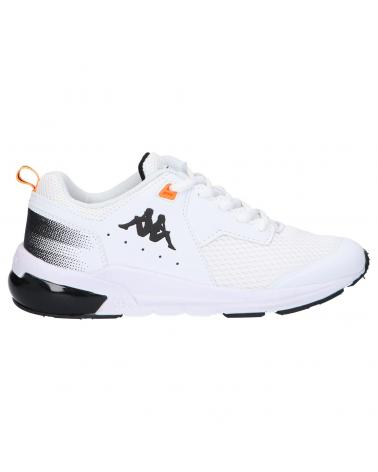 Women and Girl and Boy Sports shoes KAPPA 3112Z5W SNUGGER LACE JR S22 WHITE-BLACK