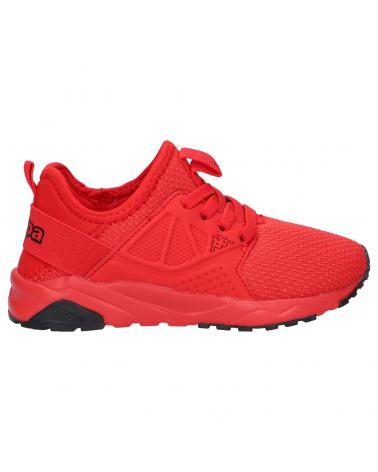 Boy and Girl Sports shoes KAPPA 3117LYW SAN DIEGO BB S03 RED-BLACK
