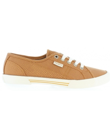 Zapatos de Mujer PEPE JEANS PLS30347 ABERLADY 877 NUT BROWN