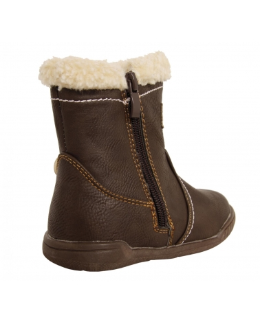 Botas de Niña URBAN B160958-B1392 BROWN-WHITE