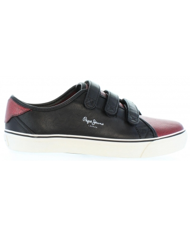Zapatos de Mujer PEPE JEANS PLS30399 ALFORD 299 BURGUNDY