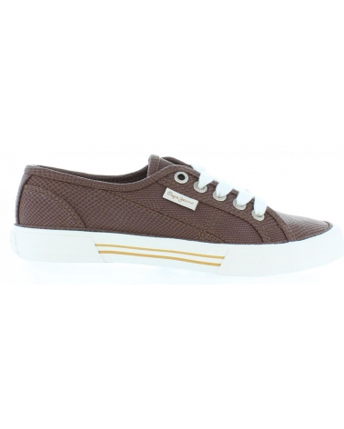 Zapatos de Mujer PEPE JEANS PLS30347 ABERLADY 875 CAPUCCINO