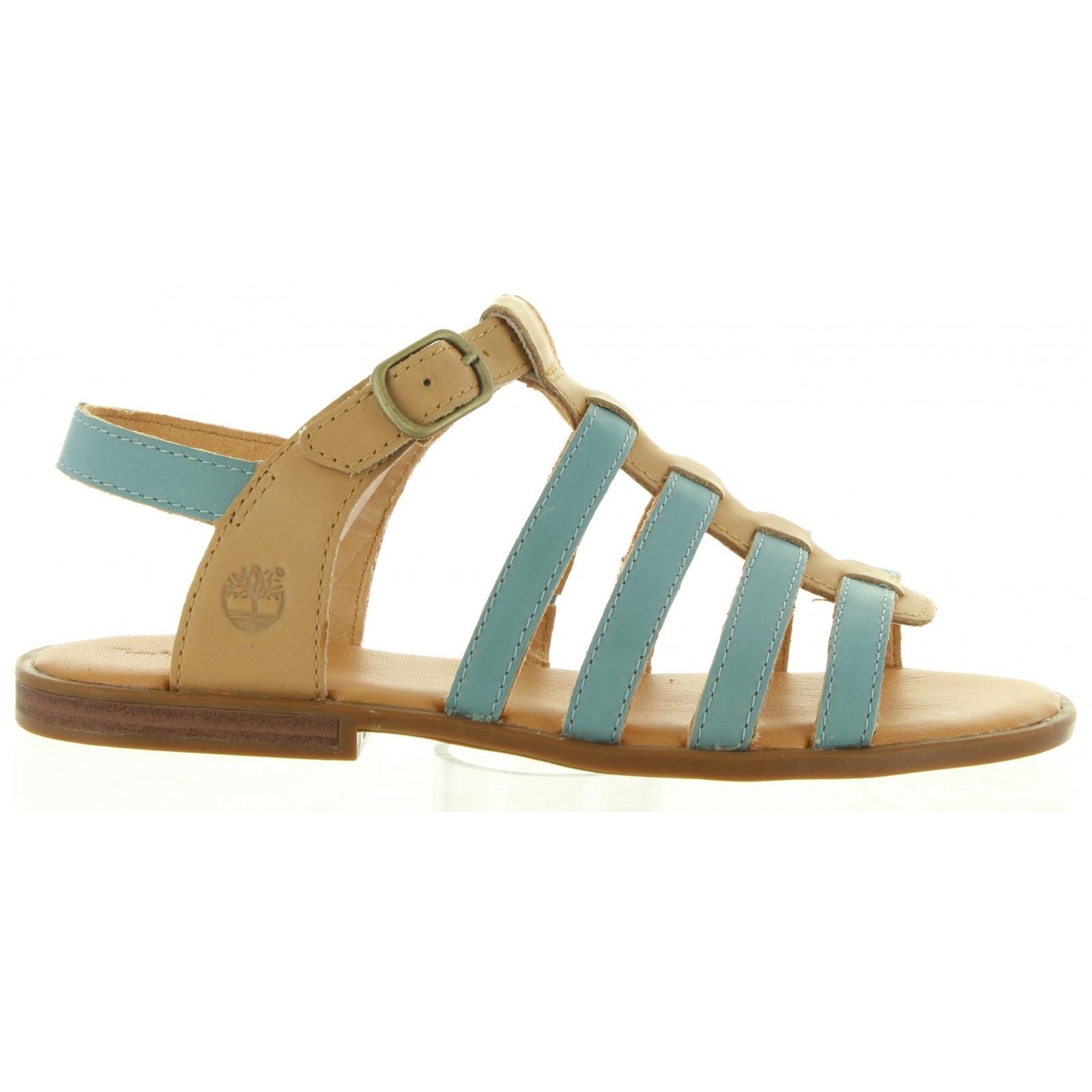 Sandals-girl-TIMBERLAND-A1G2D GIRLS-STONE BLUE Size 33 b85c7ea92a72