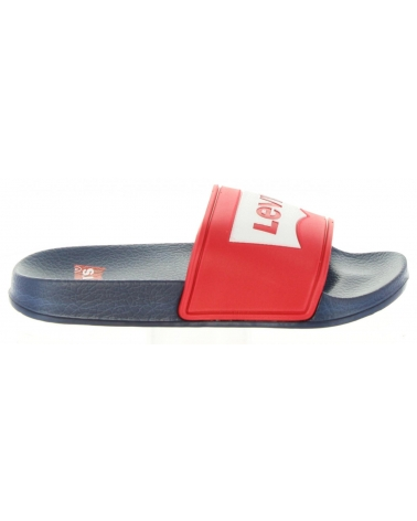 Chanclas de Niño y Niña LEVIS VPOL0001S POOL 0047 RED