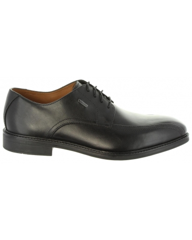 Zapatos de Hombre CLARKS 26127748 CHILVERUP BLACK LEATHER